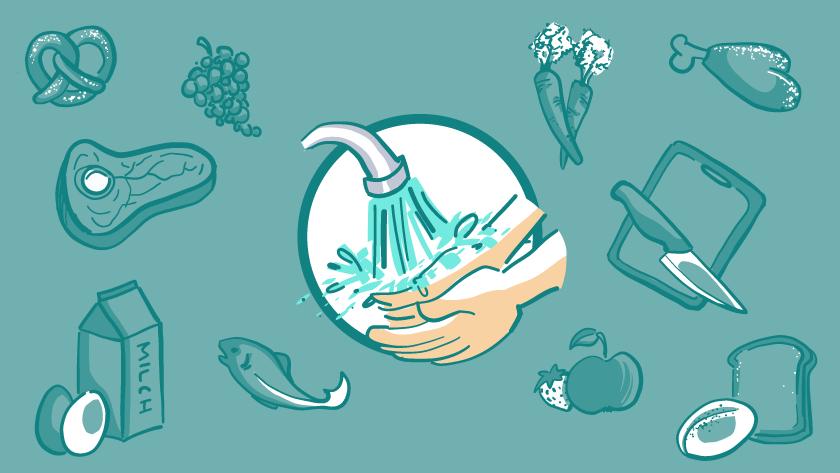 Lebensmittelhygiene - Kitas und Seniorenheime (LMHV EG 852/2004)