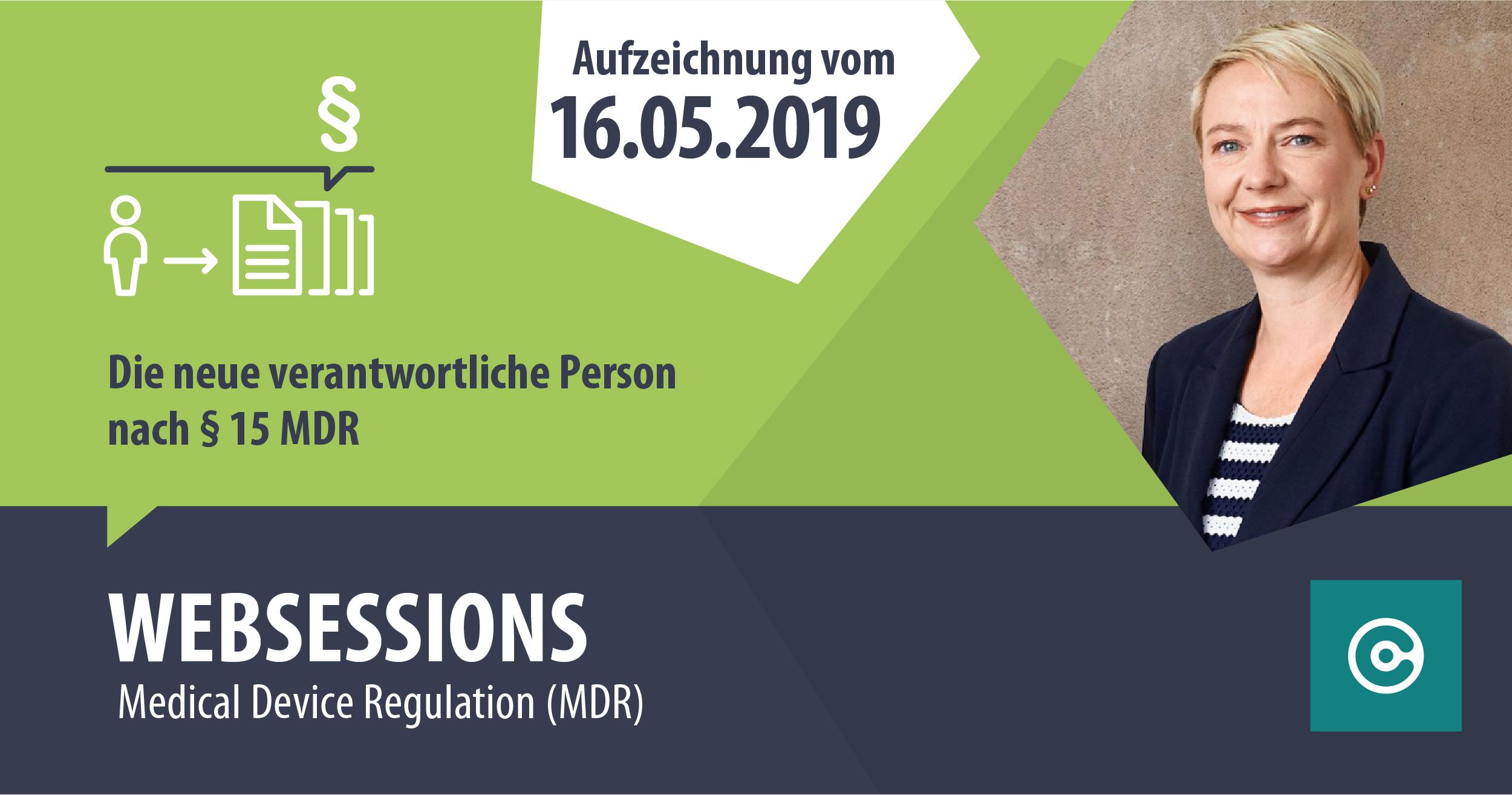 Die neue verantwortliche Person nach Art. 15 MDR: Verantwortung und Haftung