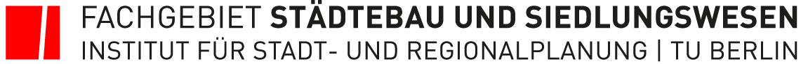 TU Berlin - Fachgebiet Städtebau und Siedlungswesen